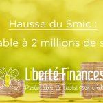 Hausse du Smic : profitable à 2 millions de salariés
